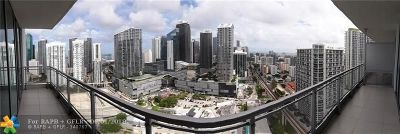 Miami Condo/Townhouse For Sale: 92 SW 3rd St #3502