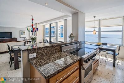 Fort Lauderdale Condo/Townhouse For Sale: 4300 N Ocean Blvd #9B