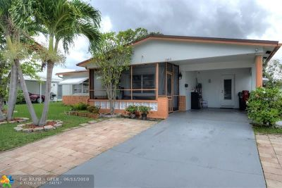 Margate Single Family Home For Sale: 1445 NW 66th Ter