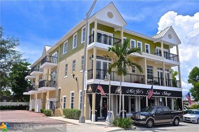 Wilton Manors Condo/Townhouse For Sale: 2356 Wilton Dr #B