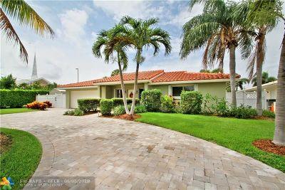 Pompano Beach Single Family Home For Sale: 2641 NE 23rd Ct