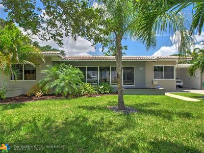 Wilton Manors Single Family Home For Sale: 2111 NE 3rd Ave