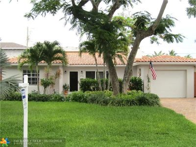 Fort Lauderdale Single Family Home Backup Contract-Call LA: 1712 NE 19th St