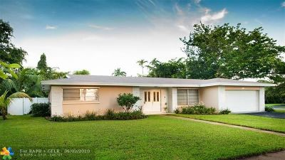 Plantation Single Family Home Backup Contract-Call LA: 1161 NW 70th Ave