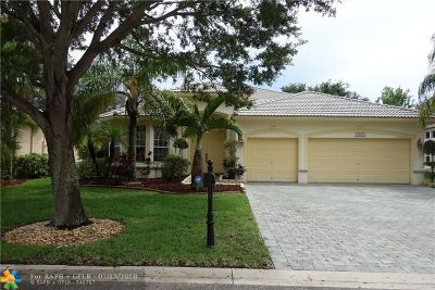 Coral Springs Single Family Home For Sale: 5808 NW 54th Cir