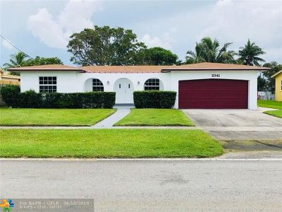 Lauderdale Lakes Single Family Home For Sale