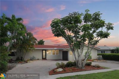 Coral Ridge Isles Single Family Home For Sale: 1460 NE 57th Ct