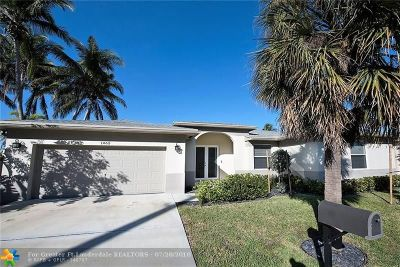 Wilton Manors Single Family Home For Sale: 1465 NE 24 Street