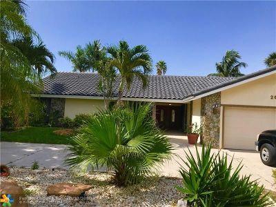 Pompano Beach Single Family Home For Sale: 2628 SE 9th St