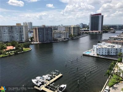 Hallandale Condo/Townhouse For Sale: 1965 S Ocean Dr #16N