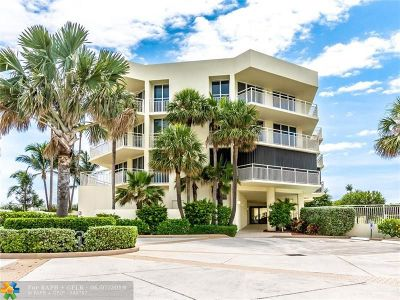 Jupiter Condo/Townhouse For Sale: 19930 Beach Rd #402