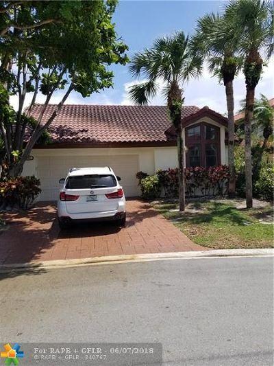 Boca Raton Single Family Home For Sale: 21640 Club Villa Trrace