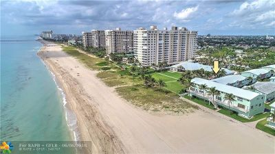 Lauderdale By The Sea Condo/Townhouse For Sale: 5400 N Ocean Blvd #48