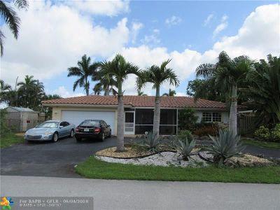 Pompano Beach Single Family Home For Sale: 1351 NE 23rd Ct