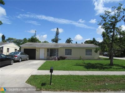 North Lauderdale Single Family Home For Sale: 6401 SW 16th St