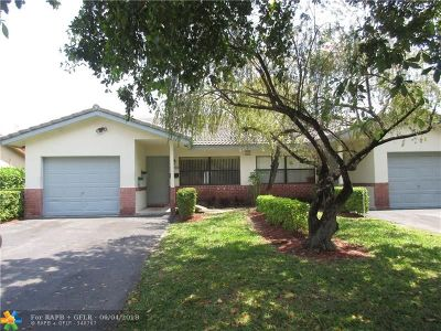 Coral Springs Single Family Home For Sale: 3573 NW 78th Ln