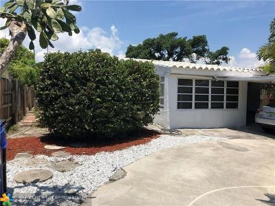 Fort Lauderdale Single Family Home For Sale: 1717 NW 7th Ave