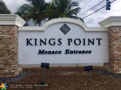 Delray Beach Condo/Townhouse For Sale: 523 Monaco K #523