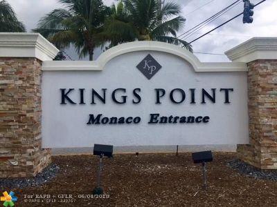 Delray Beach Condo/Townhouse For Sale: 523 Monaco K #523