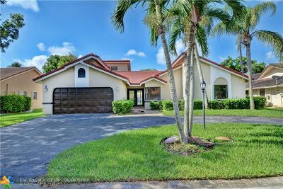 Coral Springs Single Family Home For Sale: 9044 NW 52nd Ct