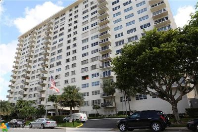 Fort Lauderdale Condo/Townhouse For Sale: 340 Sunset Dr #306