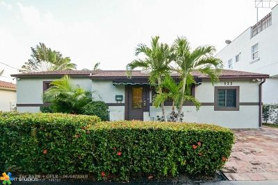 Fort Lauderdale Single Family Home For Sale: 522 SW 11th Ct