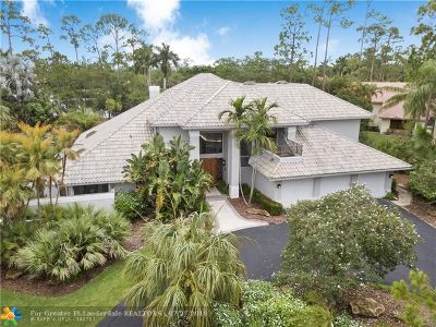 Coral Springs Single Family Home For Sale: 5465 W Leitner Dr