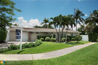 Wilton Manors Single Family Home For Sale: 721 NW 29th Ct