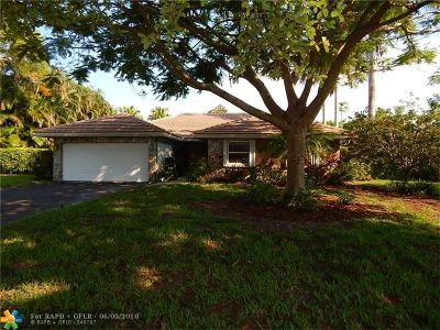 Coral Springs Rental For Rent: 10010 NW 11th Mnr