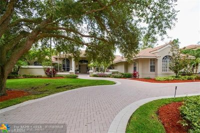 Coral Springs FL Single Family Home For Sale: $969,000