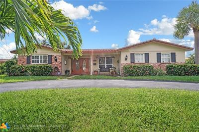 Coral Ridge, Coral Ridge 21-50 B, Coral Ridge Add, Coral Ridge Country Club Single Family Home For Sale: 4700 NE 26th Ave
