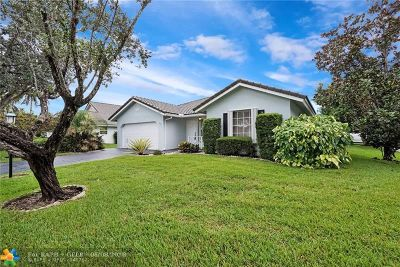Coral Springs Single Family Home For Sale: 5341 Pine Cir