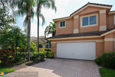 Coral Springs Condo/Townhouse For Sale: 5747 NW 127th Ter #5747