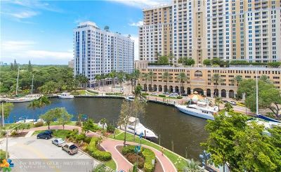 Fort Lauderdale Condo/Townhouse For Sale: 347 N New River Dr #704