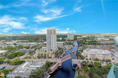 Fort Lauderdale Condo/Townhouse For Sale: 333 Las Olas Way #2501