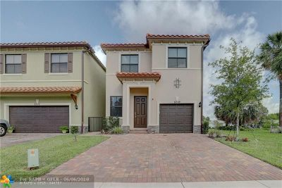 Tamarac Single Family Home For Sale: 5719 NW 47th Ave