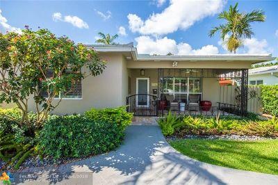 Hollywood Single Family Home For Sale: 1122 Polk St