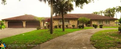 Coral Springs FL Single Family Home For Sale: $525,000
