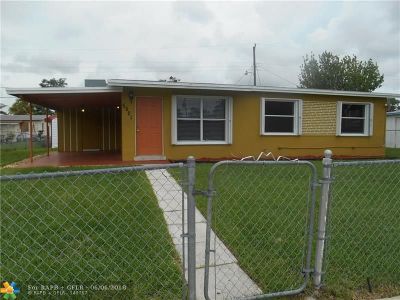 Davie Single Family Home For Sale: 5521 SW 37th St