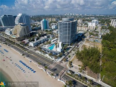 Fort Lauderdale Condo/Townhouse For Sale: 701 N Fort Lauderdale Beach Blvd #604
