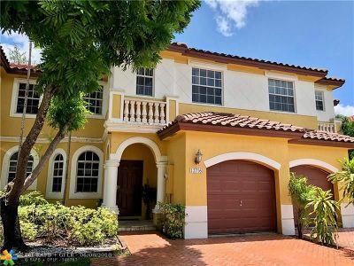 Miramar Condo/Townhouse Backup Contract-Call LA: 12716 SW 50 St #12716