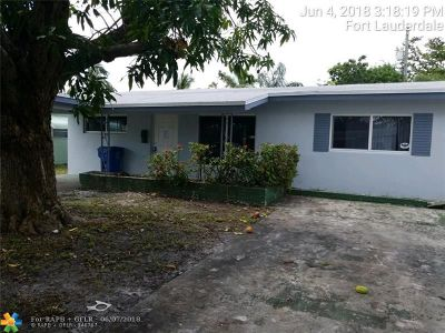 Oakland Park Single Family Home For Sale: 81 NW 47th Ct