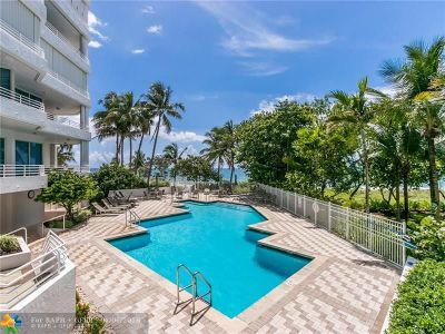 Lauderdale By The Sea Condo/Townhouse For Sale: 1440 S Ocean Blvd #8-D
