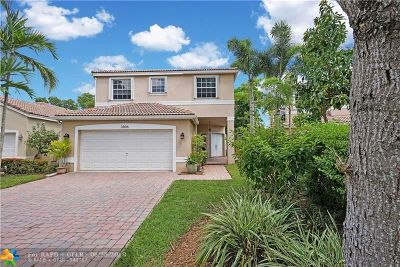 Coconut Creek Single Family Home For Sale: 3806 NW 62nd Ct