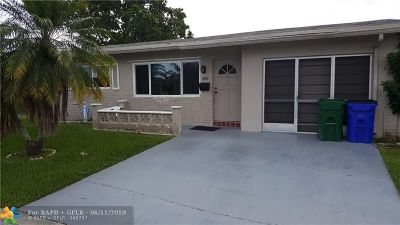 Margate Single Family Home For Sale: 6860 NW 12 St