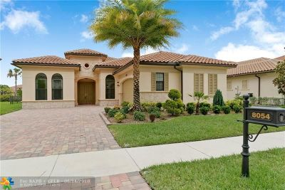 Parkland Single Family Home For Sale: 8054 NW 115th Way
