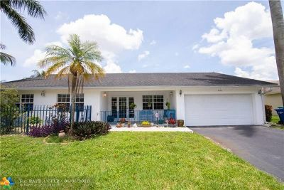 Lauderhill Single Family Home Backup Contract-Call LA: 4990 NW 73rd Ave