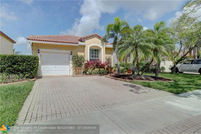 Pembroke Pines Single Family Home For Sale: 1272 NW 192nd Ln
