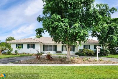Plantation Single Family Home Backup Contract-Call LA: 7200 NW 7th St