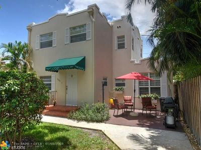 Hollywood Multi Family Home For Sale: 1534 Monroe St